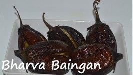 Bharva Baingan- Punjabi-Stuffed Eggplant