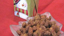 Slow Cooker Cinnamon Almonds  Christmas