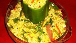 Capsicum Rice  Indian Veg Fried Rice