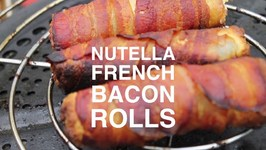 Nutella Bacon French Rolls