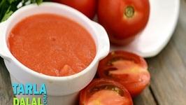 Fresh Tomato Pulp (Gluten Free Recipe)