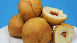 Sicilian Fried Dough Balls- Christmas Appetizer