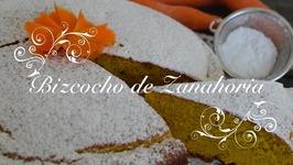 Bizcocho de Zanahoria esponjoso con Thermomix - Carrot cake / Bizcocho de Zanahoria Thermomix
