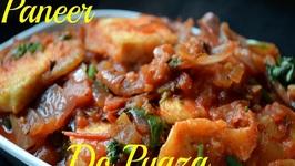 Paneer Do Pyaza -Indian Paneer