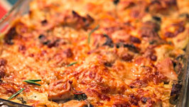 Rosemary Chicken Lasagna  a recipe from Lyndsay Wells, the Kitchen Witch