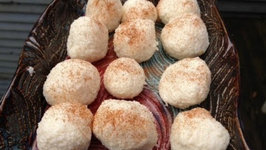 Easy dessert Recipe- Ricotta Cheese and Coconut Snowballs Recipe