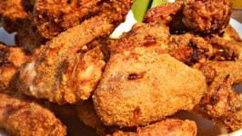 Grill Fried Chicken Wings