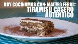 Tiramisu Casero Y Facil. Receta Autentica Italiana Grabada Con Una Go Pro