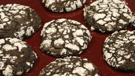 Cookies - Chocolate Snow Topped Cookies