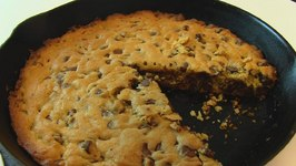 Betty's Chocolate Chip Iron Skillet Cookie