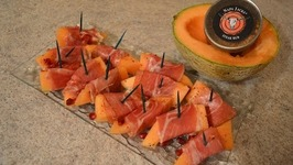 How To Make Napa Jack's Smoked Prosciutto Wrapped Cantaloupe