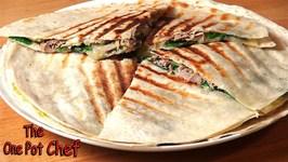 Tuna And Avocado Quesadillas