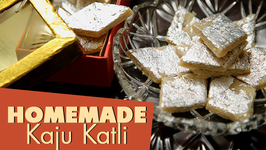 Homemade Kaju Katli Recipe  Indian Sweet Recipe  Ruchi's Kitchen