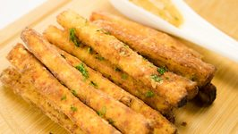 Paneer Fingers / Paneer Fries Recipe  Quick and Easy Evening Snack  Paneer