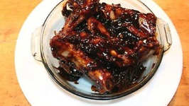 Pan Fried Beef Ribs In Barbecue Sauce