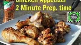 Tajin Chicken Appetizer -Instant Chicken Snack Innovative Recipe