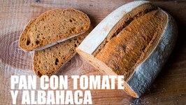 Como Hacer Pan Con Tomate Y Albahaca