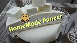 Homemade Paneer- Indian Cottage Cheese Simplified