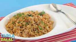 Soya Upma (Iron Rich Recipe)