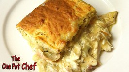 Creamy Chicken And Scone Bake