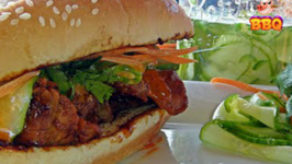 Pork Recipe - How to make a Korean Style Pork Tenderloin Sandwich