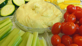 Betty's Curry Dip with Fresh Vegetables