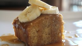 Toffee and Banana Self Saucing Pudding  One Pot Chef