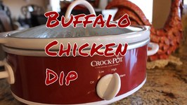Prep Ahead Buffalo Chicken Party Dip
