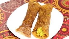Farali Aloo Masala Dosa For Upvas Vrat / Fasting Recipe