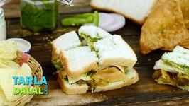 Samosa Chips Sandwich