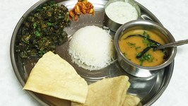 Complete Gujarati Thali Meal Making