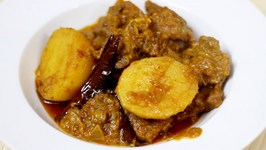 Bengali Style Mutton Curry or Kosha Mangsho How to Make Spicy Mutton in Pressure Cooker