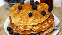 Breakfast - Buttermilk Blueberry Pancakes