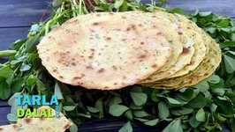 Whole Wheat Methi Khakhra / Methi Khakra Recipe
