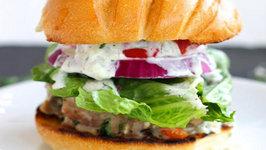 Dinner - Ultimate Greek Turkey Burgers