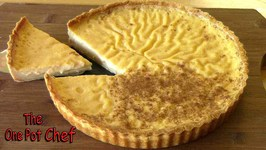Custard Tart  One Pot Chef