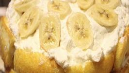 Twinkie Banana Cream Cheese Cake- No Bake
