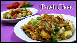 Papdi Chaat (Indian Street Food)  Every Indian Girl's Favorite Snack