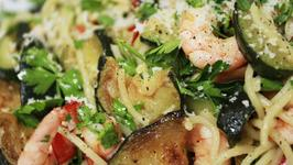Prawn And Courgette Pasta Recipe