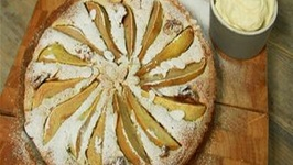 Pear And Walnut Frangipan Tart