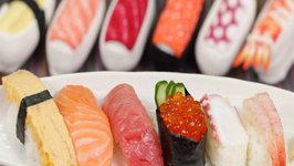 Nigiri Sushi (Nigirizushi Recipe) and Sushi Socks