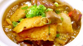 How to Cook Chinese Fish and Eggplant Clay Pot Recipe
