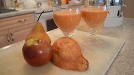 How To Make Apple, Pear And Sweet Potato Juice