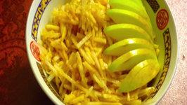 Green Apple And Daikon Radish Salad