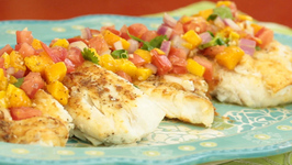 How to Make Halibut with a Light Mango Salsa