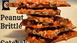 Easy Peanut Brittle or Punjabi Gatchak or Moongfali Chikki