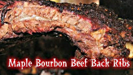 Maple Bourbon Beef Back Ribs BBQ