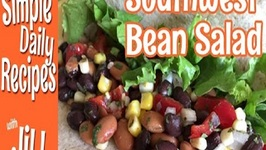 Southwest Bean Salad Inspired By PlantPure Nation Cookbook
