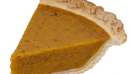 Spiced Microwaved Pumpkin Pie