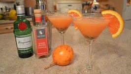How To Make Napa Valley Blood Orange And Granadilla Martinis